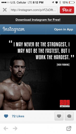 Crossfit Quote Great
