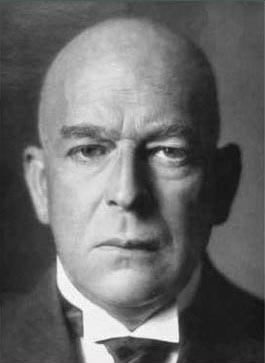 Oswald Spengler, author of Decline of the West