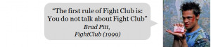 Gagbay Best Fight Club Movie Quote Ever
