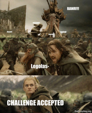 Funny-lotr-legolas-funny-face-challenge-accepted-a by Tribune ...