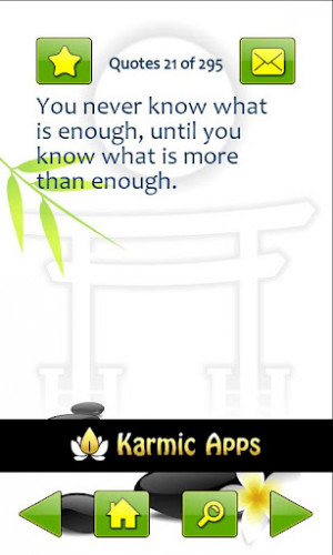 daily basis zen quotes features save quotes to favorites search quotes ...