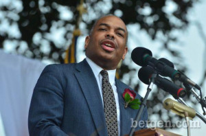 Dr Joseph Bell Principal of the EAGLE Initiative speaks Photo by