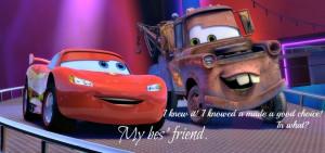 Lightning McQueen & Mater. (: