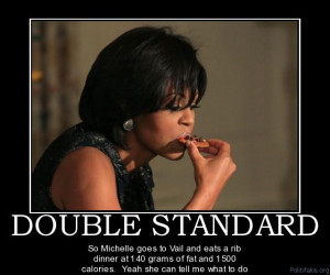 Why Michelle Obama Scolds Olympics Hero for Eating Egg McMuffin...?