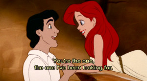 ariel, cartoon, disney, little mermaid, subtitle