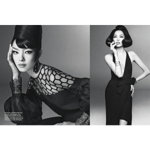 Fei Fei Sun Wows for Vogue Italia's January Issue by Steven Meisel ...