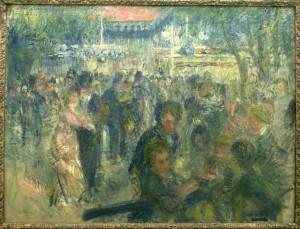 100 Silk Pierre Auguste Renoir 39 s quot Dance at Le Moulin de la ...