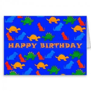More Dinosaur Birthday