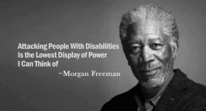 – Disabled – People with Disabilities - Quote - Attacking people ...
