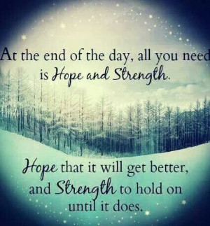 strength in hard times - Google Search: Hope Strength, Strength Quotes ...