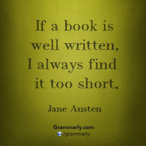 Favourite Authors ~ Jane Austen