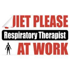 Respiratory Therapist Work Wall Decal