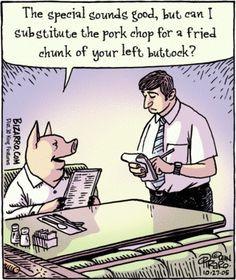 Vegan cartoons