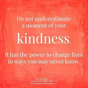 ... to change lives in ways you may never know Patricia Polacco, Facebook