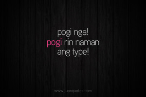 Posted under Funny , Tagalog quotes