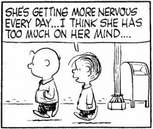 Charlie brown quotes, funny, cartoon, sayings, nervous