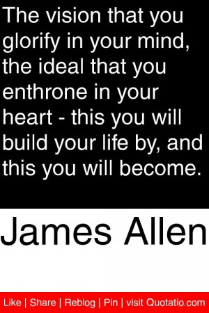 ... will build your life by and this you will become # quotations # quotes