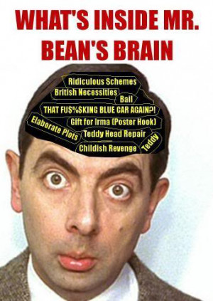 Mr Bean: A child in the body of a man, with the facial expressions of ...