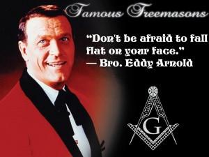 Famous Freemasons: Bro. Eddy Arnold~