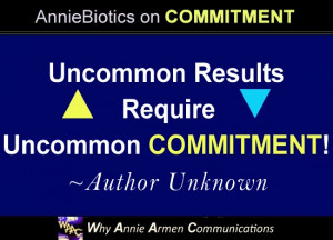 COMMITMENT Quotes in Business and in Life   WhyAnnieArmen.com
