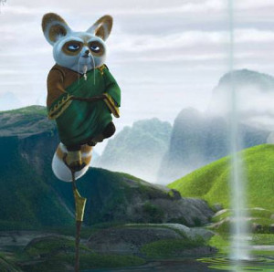 """Anything is possible when you have inner peace ."""" -Shifu-"""