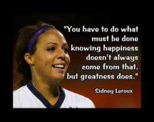 Soccer Poster Sydney Leroux Olympic Champion Photo Quote Fan Wall Art ...