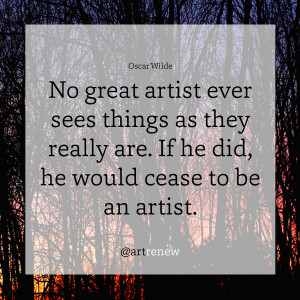 Oscar Wilde Quote About Art