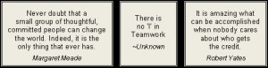 Click here for more famous teamwork quotes