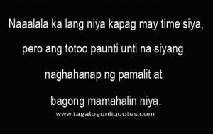Love Quotes Break Up Tagalog