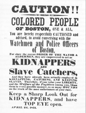 the fugitive slave act denied runaway slaves the right to a trial by ...