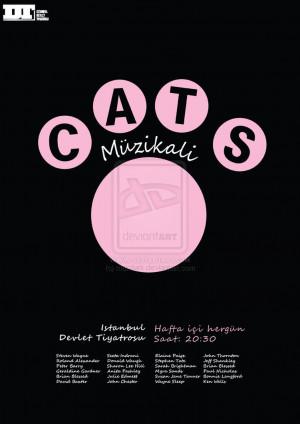 Cats Musical Poster Maxdark
