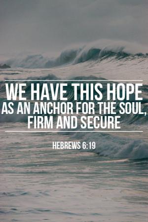 anchor bible verse