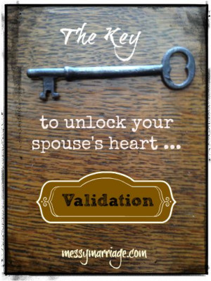 Validating Your Spouse's Feelings | Messy Marriage