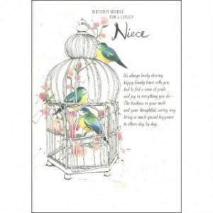 7th Birthday Quotes For Niece ~ Hallmark niece birthday card, full ...