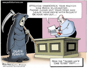 Cartoons about Capital Punishment