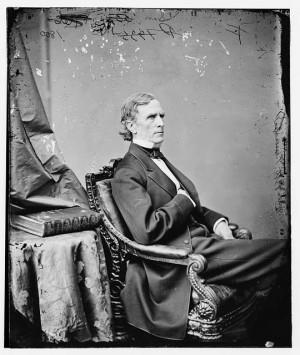 William Pitt Fessenden, date unknown. (National Archives)