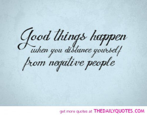 Negative People Quote...