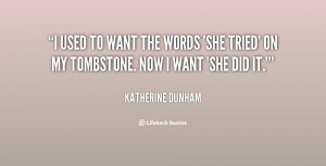 Katherine Dunham Quotes