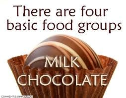funniest chocolate group quotes, funny chocolate group quotes