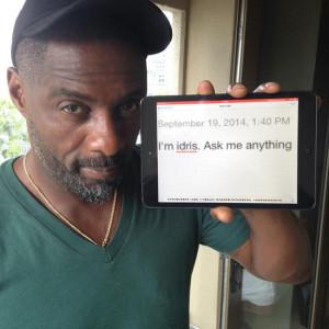 Idris Elba AMA Quotes