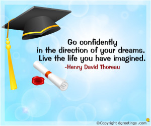 Graduation Day Go confident