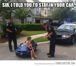 funny police kid toy car
