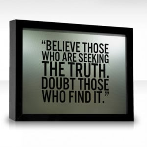 Seek The Truth Quotes. QuotesGram