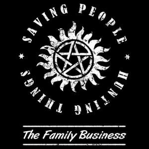 cool Supernatural t-shirt that says 'saving people, hunting things ...