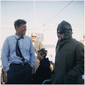 Pierre Salinger Off Newport