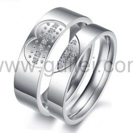 Broken Heart Promise Rings for Couples
