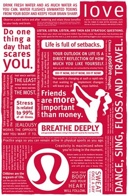 Lululemon Lunch Bag Quotes