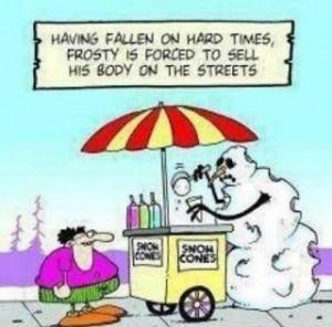 hilarious frosty snowman joke Funny Snowman Joke Pic
