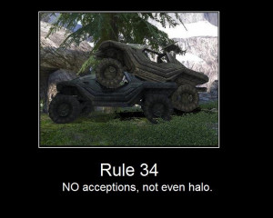 No Acceptions,Not Even Halo