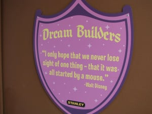 Quotes From Walt Disney At The Magic Kingdom